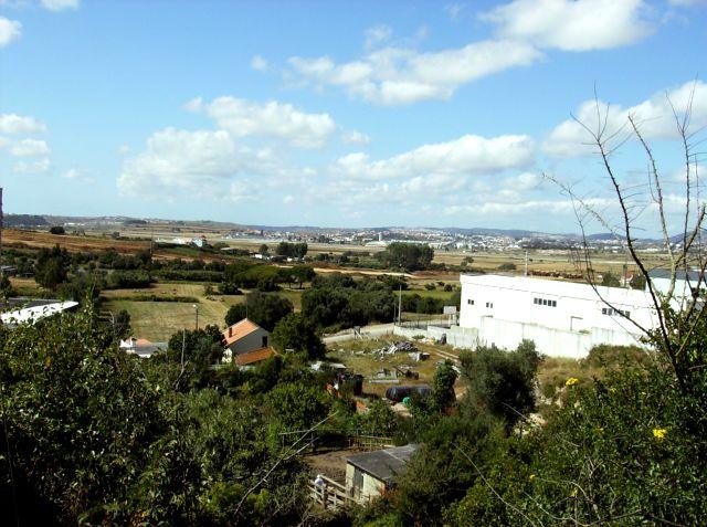 Vista da Entrada sobre o Campo Raso