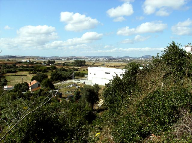 Vista sobre o Campo Raso e Granja do Marquês